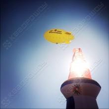 Реклама в небе, дирижабль