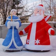Уличные фигуры для новогоднего оформления