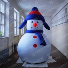 Воздушный снеговик