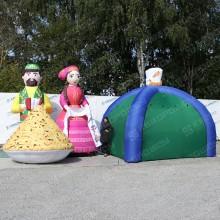 Огромные надувные фигуры на праздник сабантуй