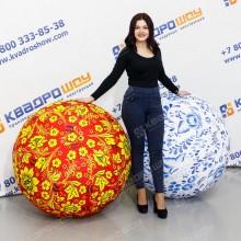 Надувные мячи с народной росписью
