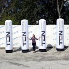 Аэро колонна для рекламы и имиджа