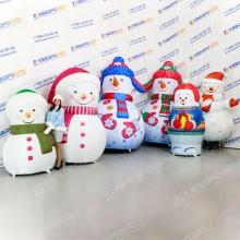 Надувные декорации Снеговики