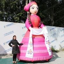 Объемная фигура девушка апа на сабантуй