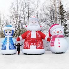 огромные надувные уличные фигуры для нового года