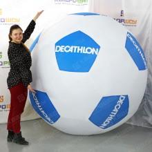 Брендированный футбольный мяч большого размера