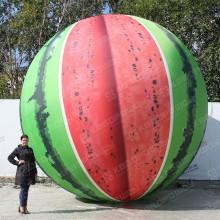 Огромный надувной шар Арбуз диаметр 5 метров