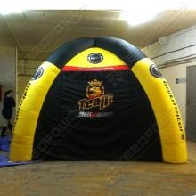 Рекламная надувная палатка