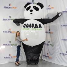 Черно-белая Панда-рукомах