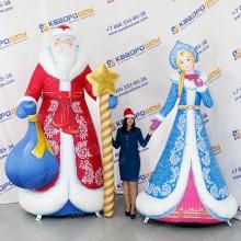 Надувные новогодние декорационные фигуры
