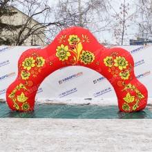арка в русском стиле оформить