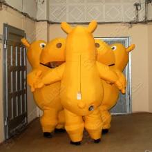 Надувные костюмы Бегемоты