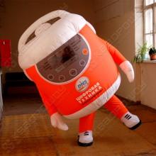 Надувной рекламный костюм Мультиварка