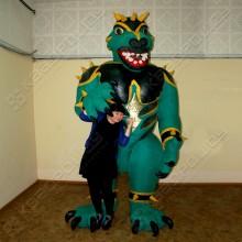 Надувной костюм Годзилла