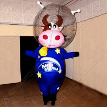 Ростовая надувная кукла Корова