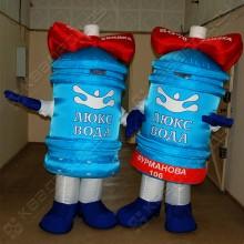 Рекламный надувной костюм Бутылка