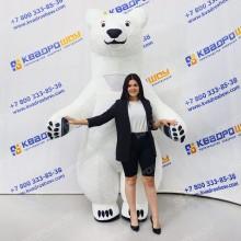 Ростовой надувной костюм Медведь