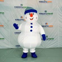 Надувная ростовая фигура Снеговик