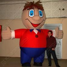Надувной ростовой костюм Человек