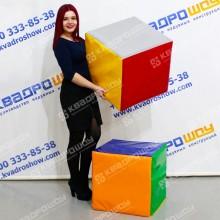 Кубики разноцветные для игры