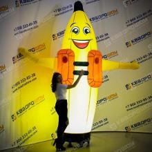 Надувной Банан для рекламы
