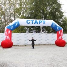 Спортивная арка для обозначения старта