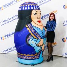 Надувная декорация Матрешка Таджичка