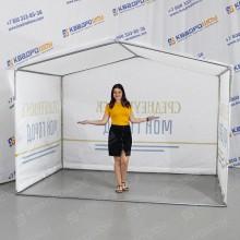 Торговая каркасная палатка для Среднеуральска