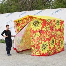 торговая палатка в русском стиле