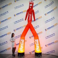 Воздушный танцор Кока Кола