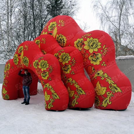 Надувные арки Хохлома