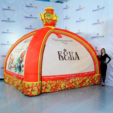 Надувная палатка Хохлома