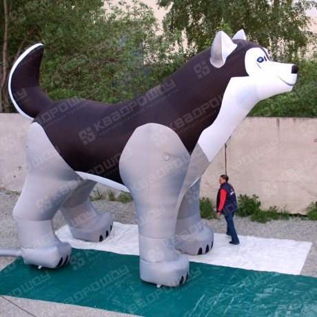 Геостат - надувная собака