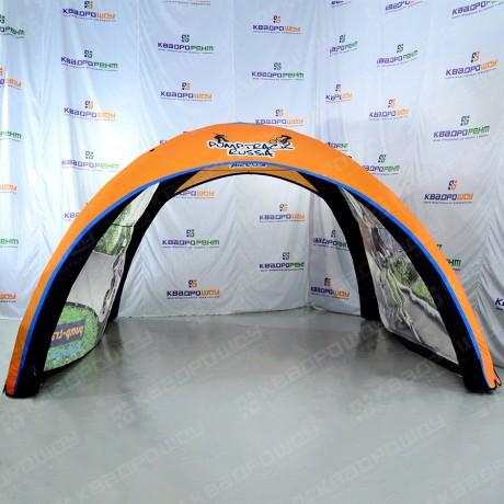 Надувной шатер на герметичном каркасе Pump Track