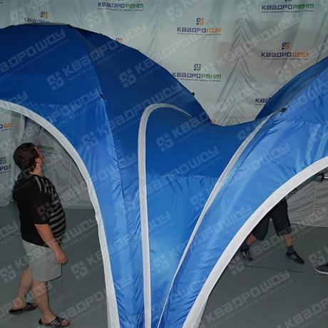 Герметичная палатка синяя