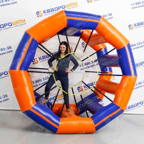Надувной аттракцион беличье колесо