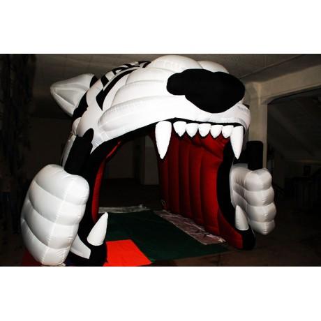 Надувные ворота с тигром