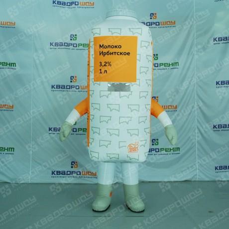 Надувной костюм молока