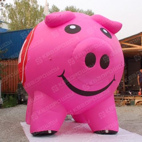 Надувная фигура свиньи