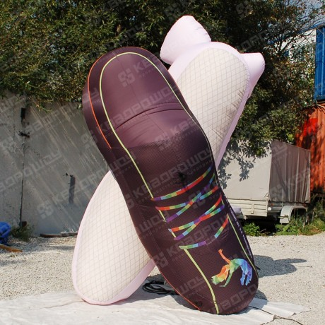 Надувная конструкция танцевальной обуви