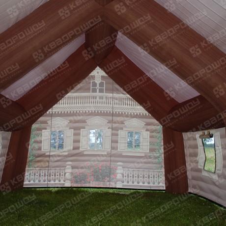 Надувная палатка-изба