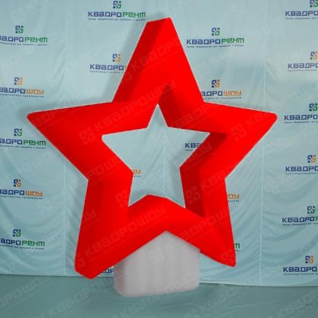 Надувная звезда 9 мая
