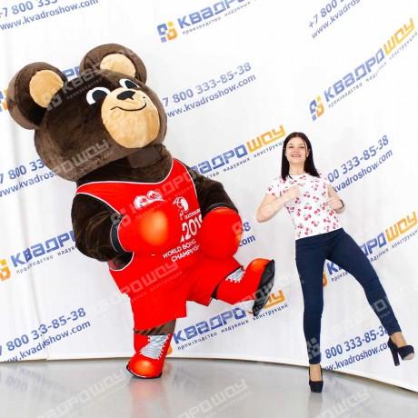 Костюм Медведя для спортивного мероприятия