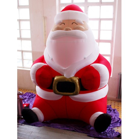 Надувная конструкция Деда Мороза