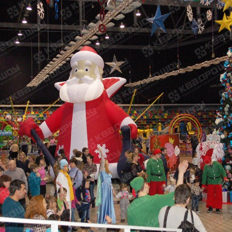 Надувная фигура Деда Мороза