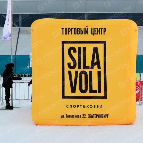 Надувной рекламный квадрат