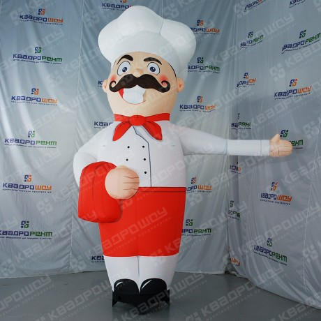 Надувная фигура повар