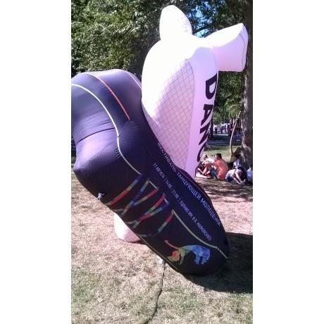 Надувная фигура танцевальной обуви