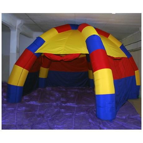 Надувная конструкция шатра