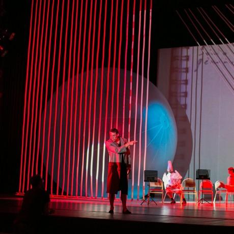 Надувные театральные декорации